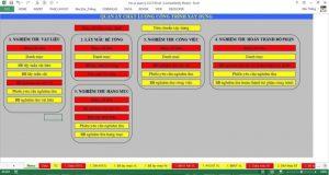 phần mềm quản lý công trình xây dựng bằng excel
